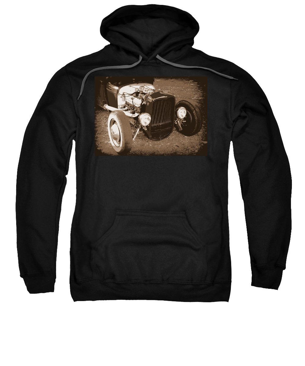 Hot Rod Sweatshirt featuring the photograph Rat Rod by Guy Pettingell