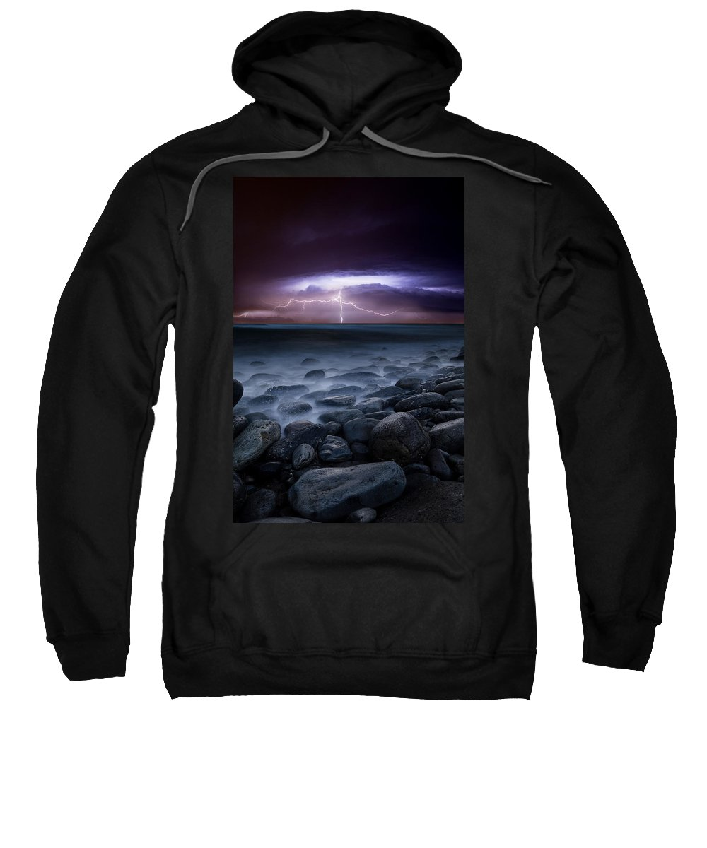 Landscape Sweatshirt featuring the photograph Raw Power by Jorge Maia