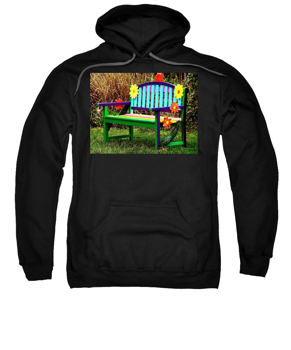 Fine Art Sweatshirt featuring the photograph Really Groovy by Rodney Lee Williams