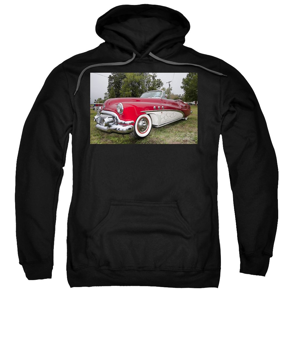 Ol Marais River Run Sweatshirt featuring the photograph Red And White Classic by Liane Wright