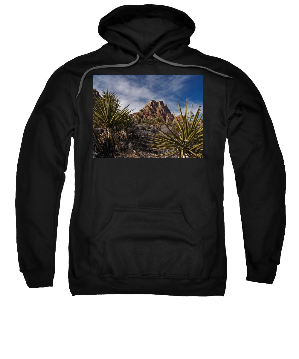 Red Rock Sweatshirt featuring the photograph Red Rock by Guillermo Rodriguez