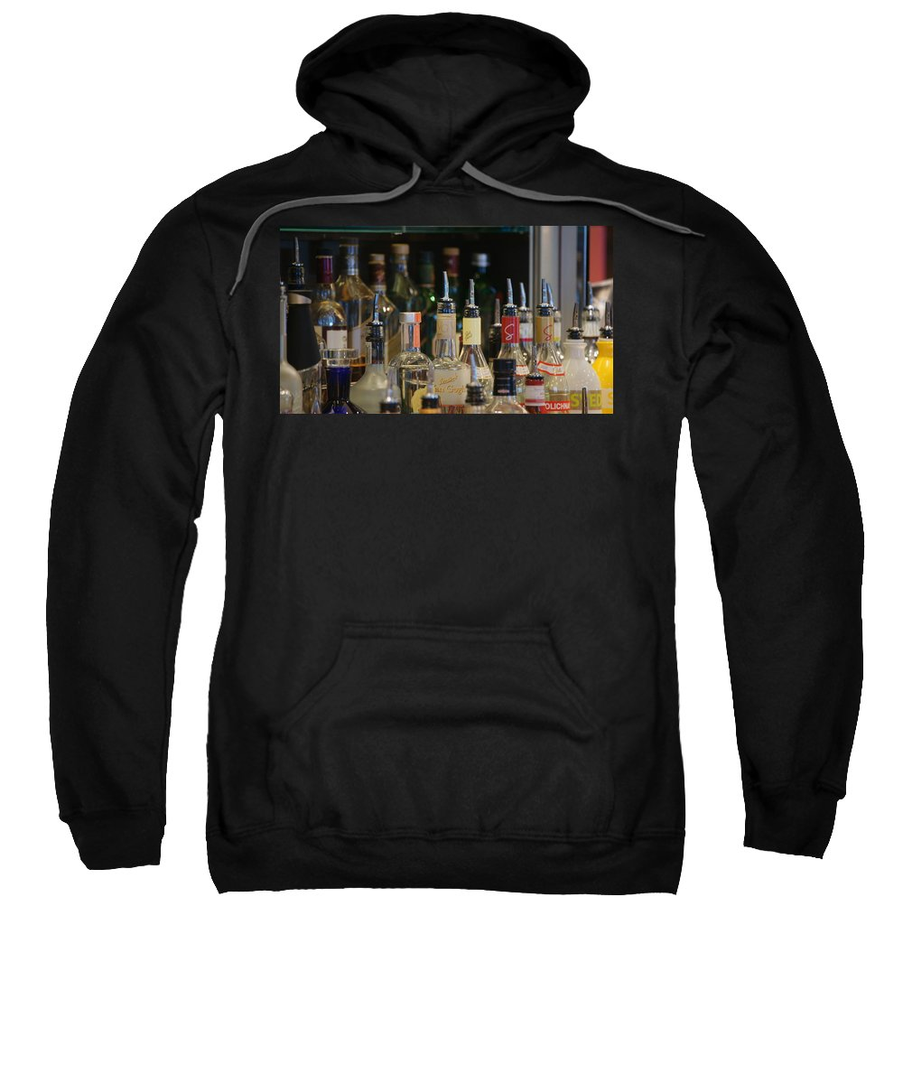 Bottles Sweatshirt featuring the photograph Reflection by Crystal Harman