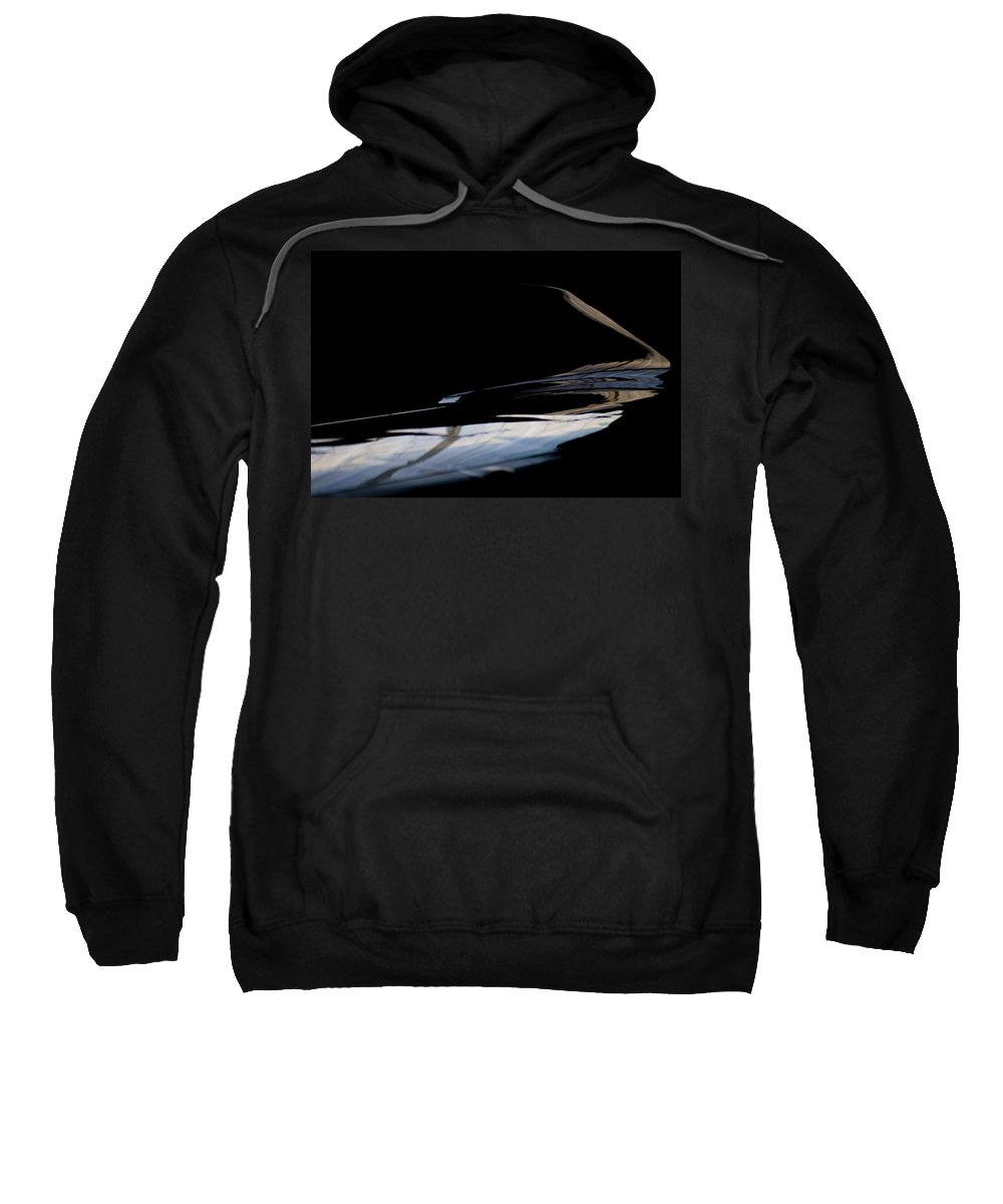 Reflective Wing-let Sweatshirt featuring the photograph Reflective Wing-let by Paul Job