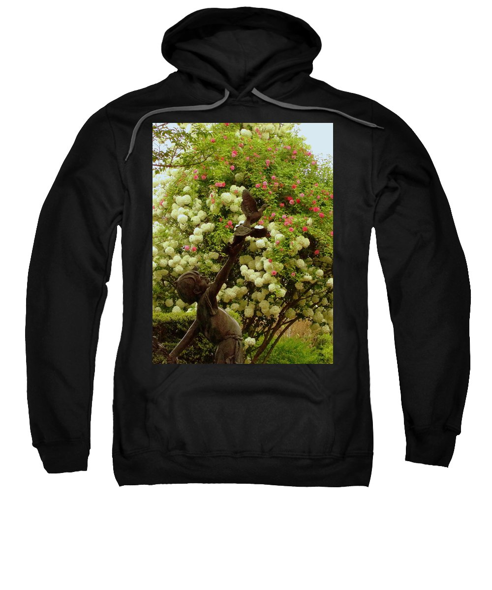 Fine Art Sweatshirt featuring the photograph Release by Rodney Lee Williams