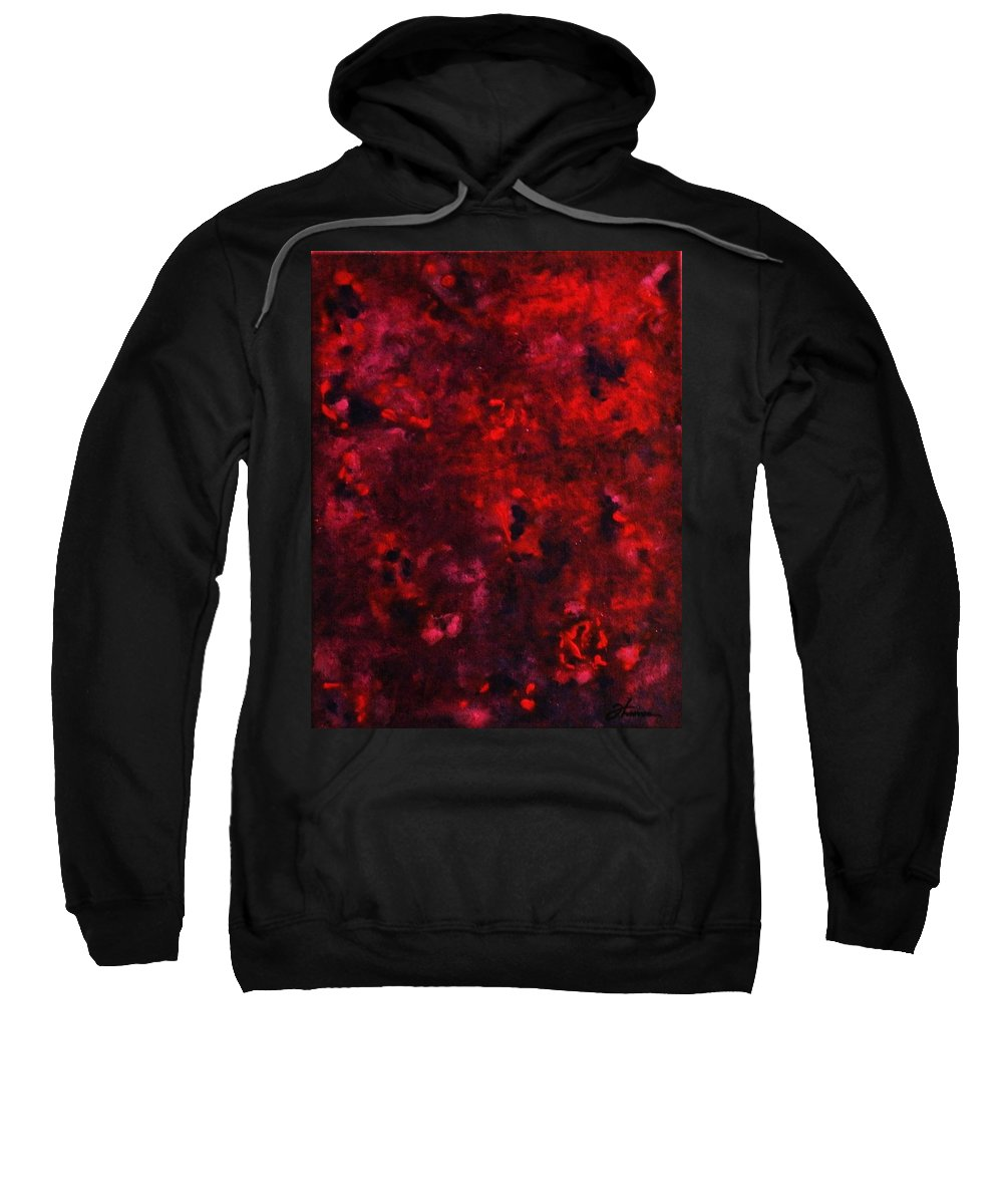 Acrylic Sweatshirt featuring the painting Remembrance by Todd Hoover