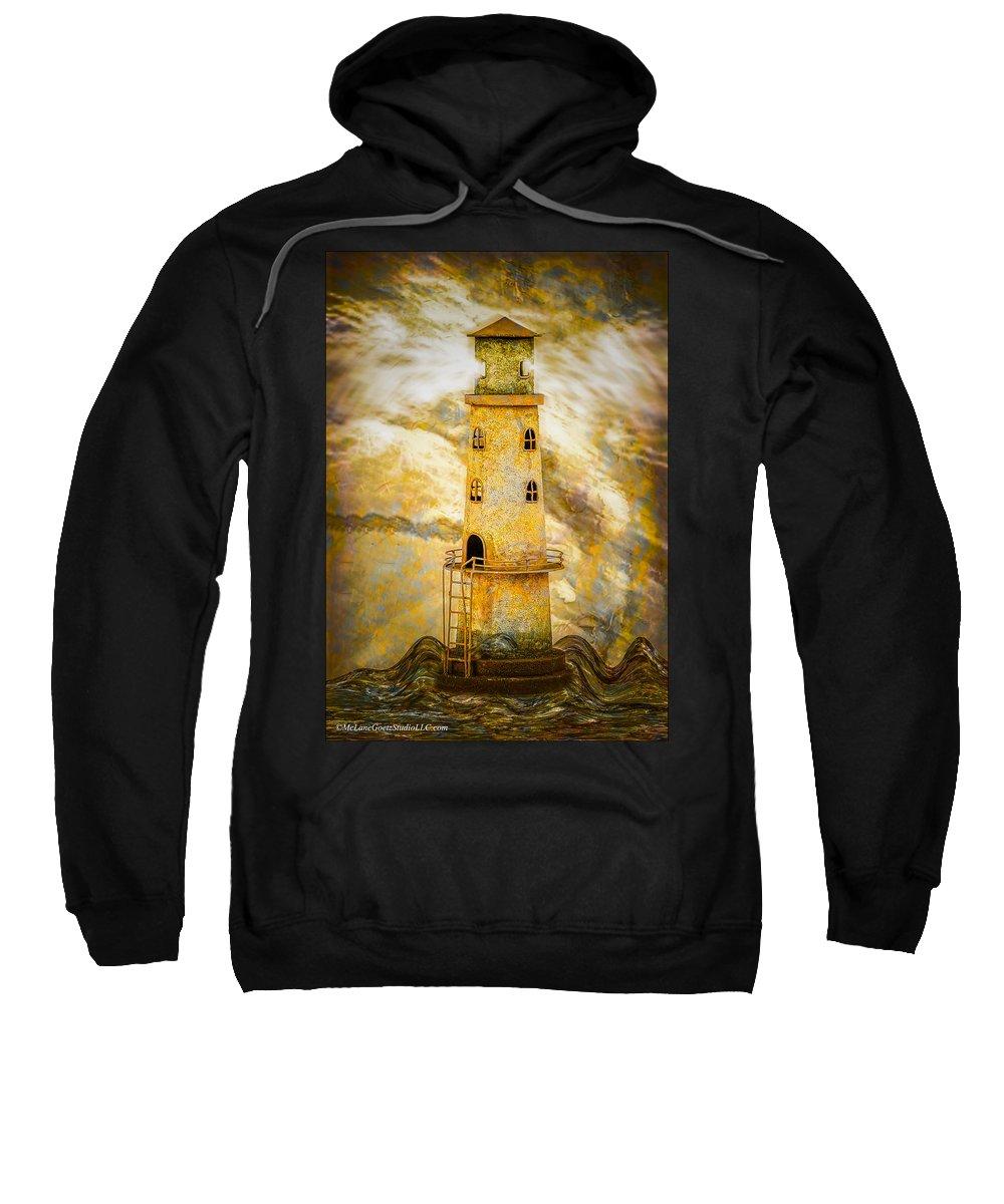 Usa Sweatshirt featuring the photograph Riding The Wave by LeeAnn McLaneGoetz McLaneGoetzStudioLLCcom