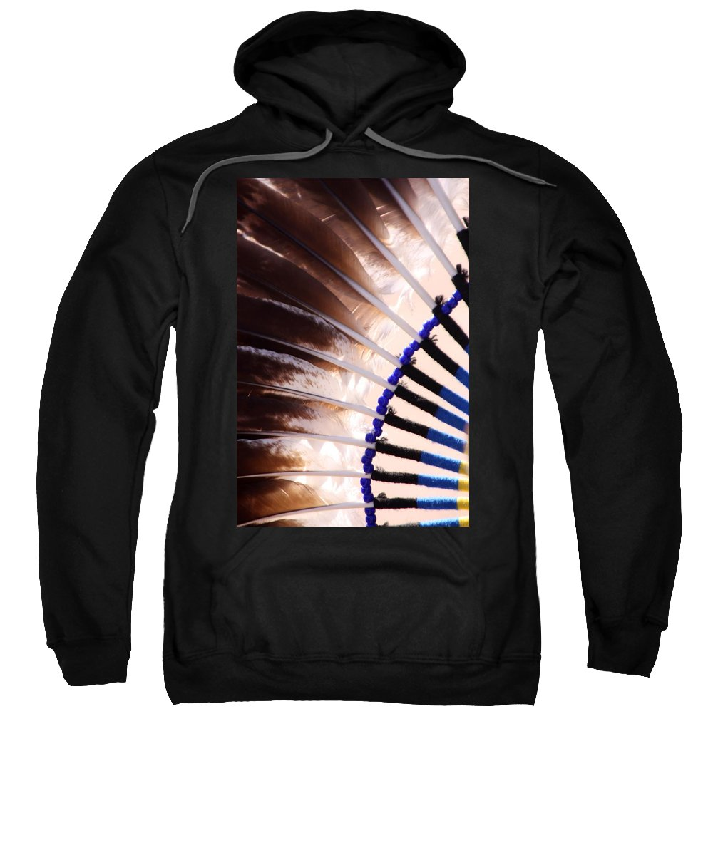 Pow Wow Sweatshirt featuring the photograph Rigalia by Joe Kozlowski