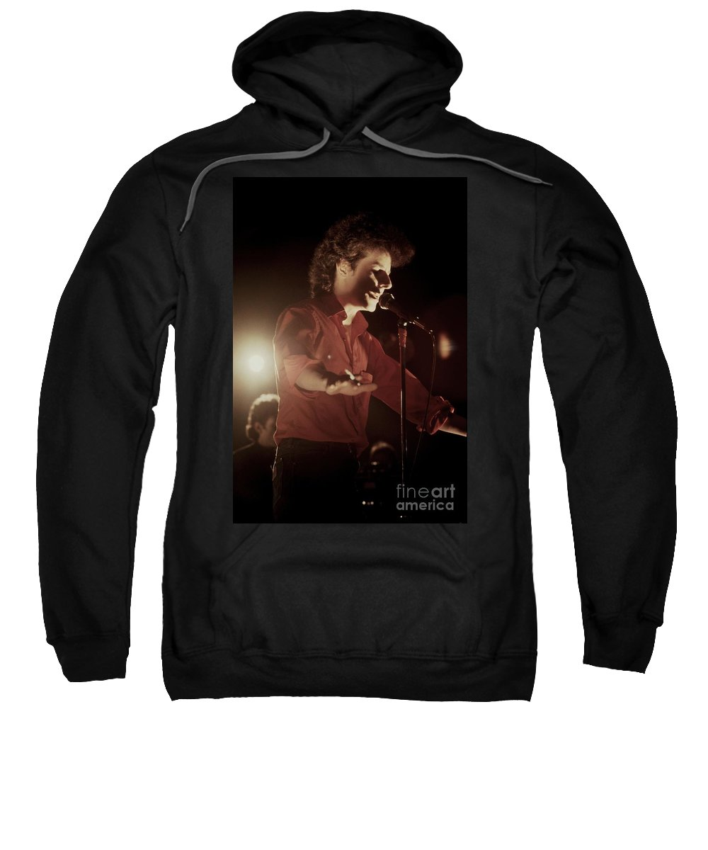 Photos Sweatshirt featuring the photograph Robert Hazard by Concert Photos