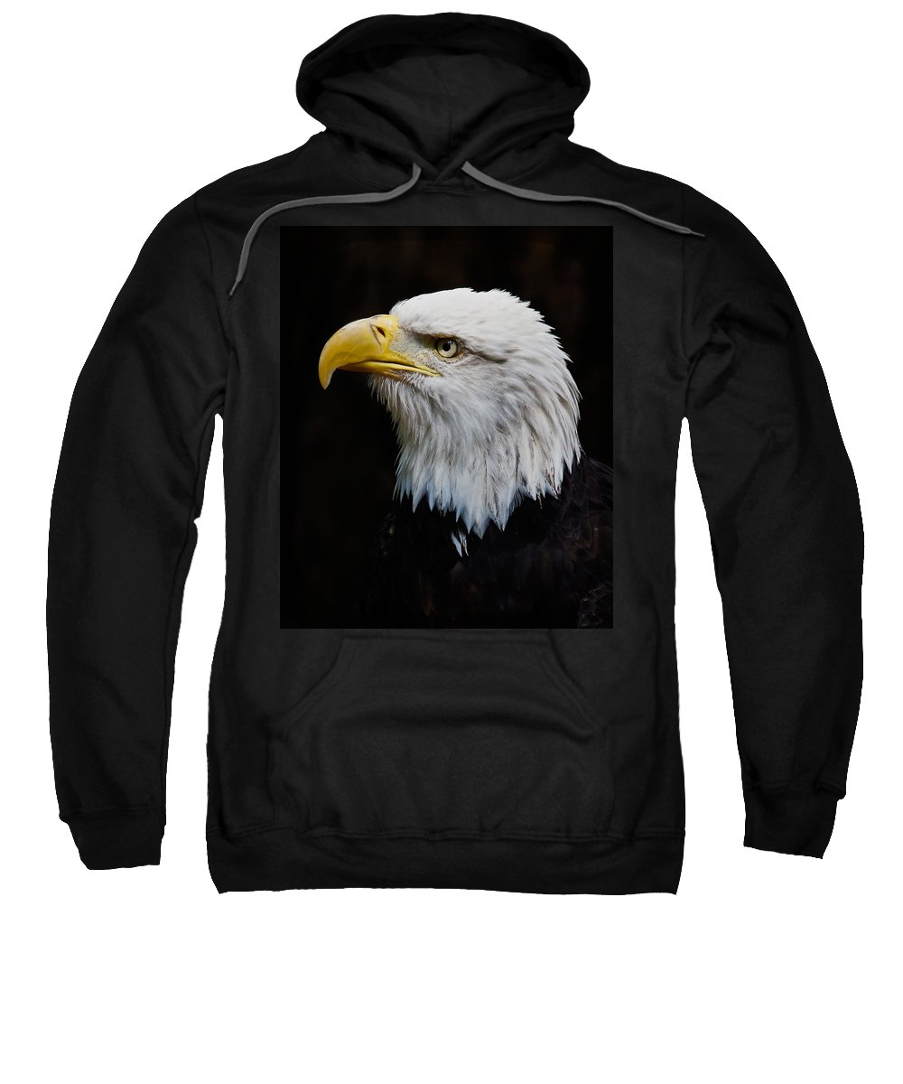 Eagle Sweatshirt featuring the photograph Ruffled Feathers by Athena Mckinzie
