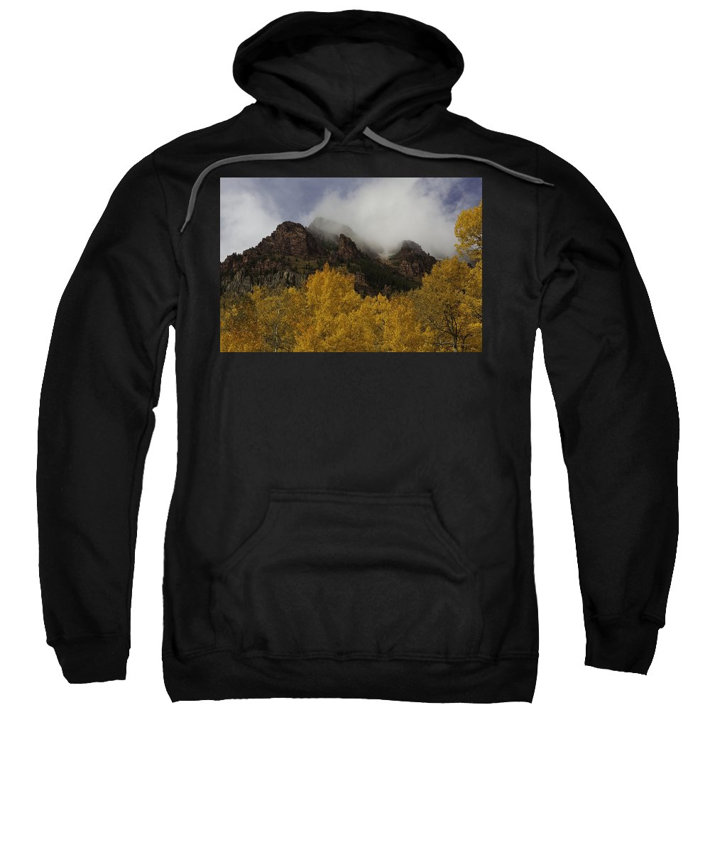 Landscape Sweatshirt featuring the photograph Ruggedness Unveiled by Bill Sherrell
