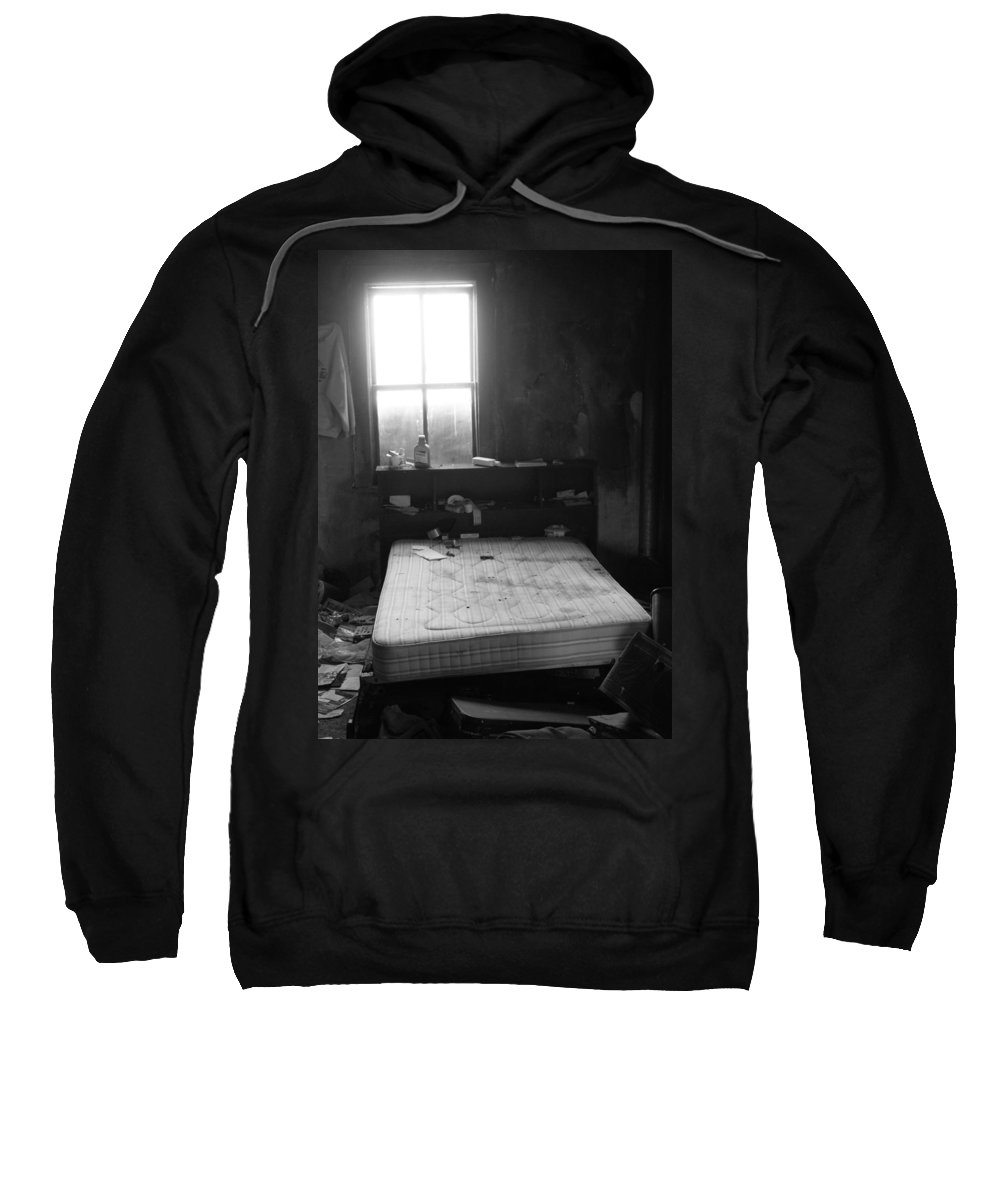 Window Sweatshirt featuring the photograph Runaway Backwards by The Artist Project