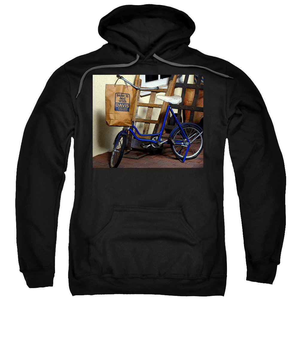 Fine Art Sweatshirt featuring the photograph Running To The Store by Rodney Lee Williams