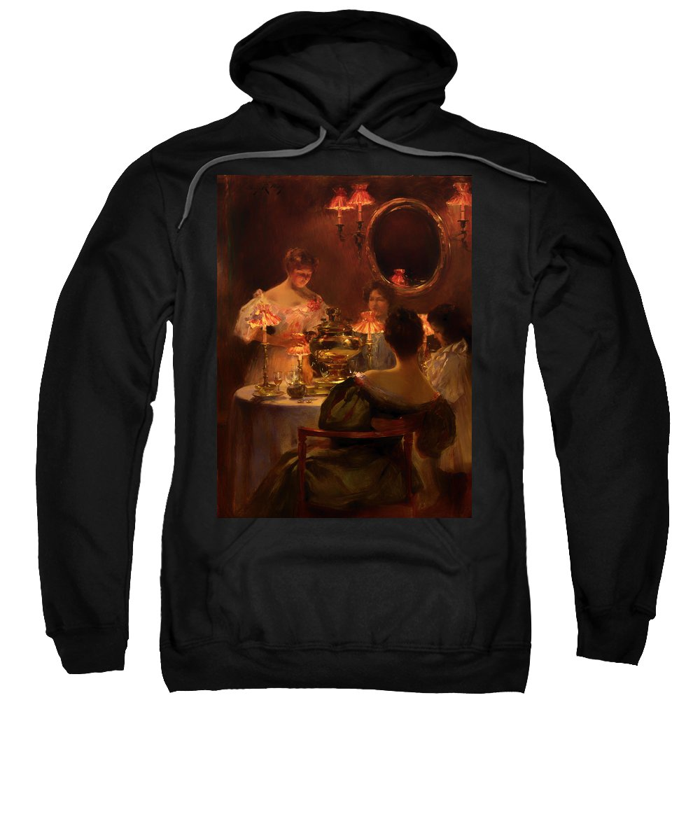 Painting Sweatshirt featuring the painting Russian Tea by Mountain Dreams
