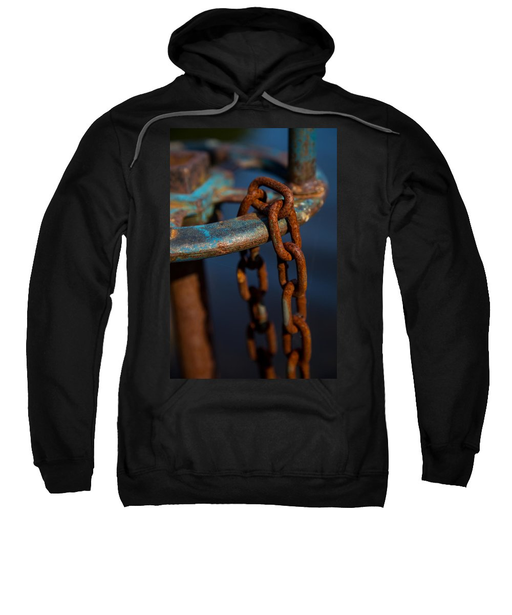 Rust Sweatshirt featuring the photograph Rusty 2 by Karol Livote