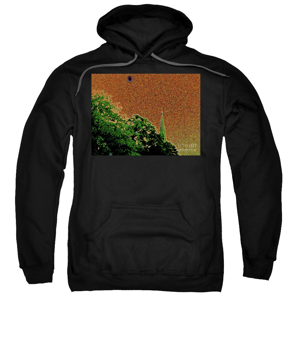 First Star Art Sweatshirt featuring the photograph Salem Moon by First Star Art