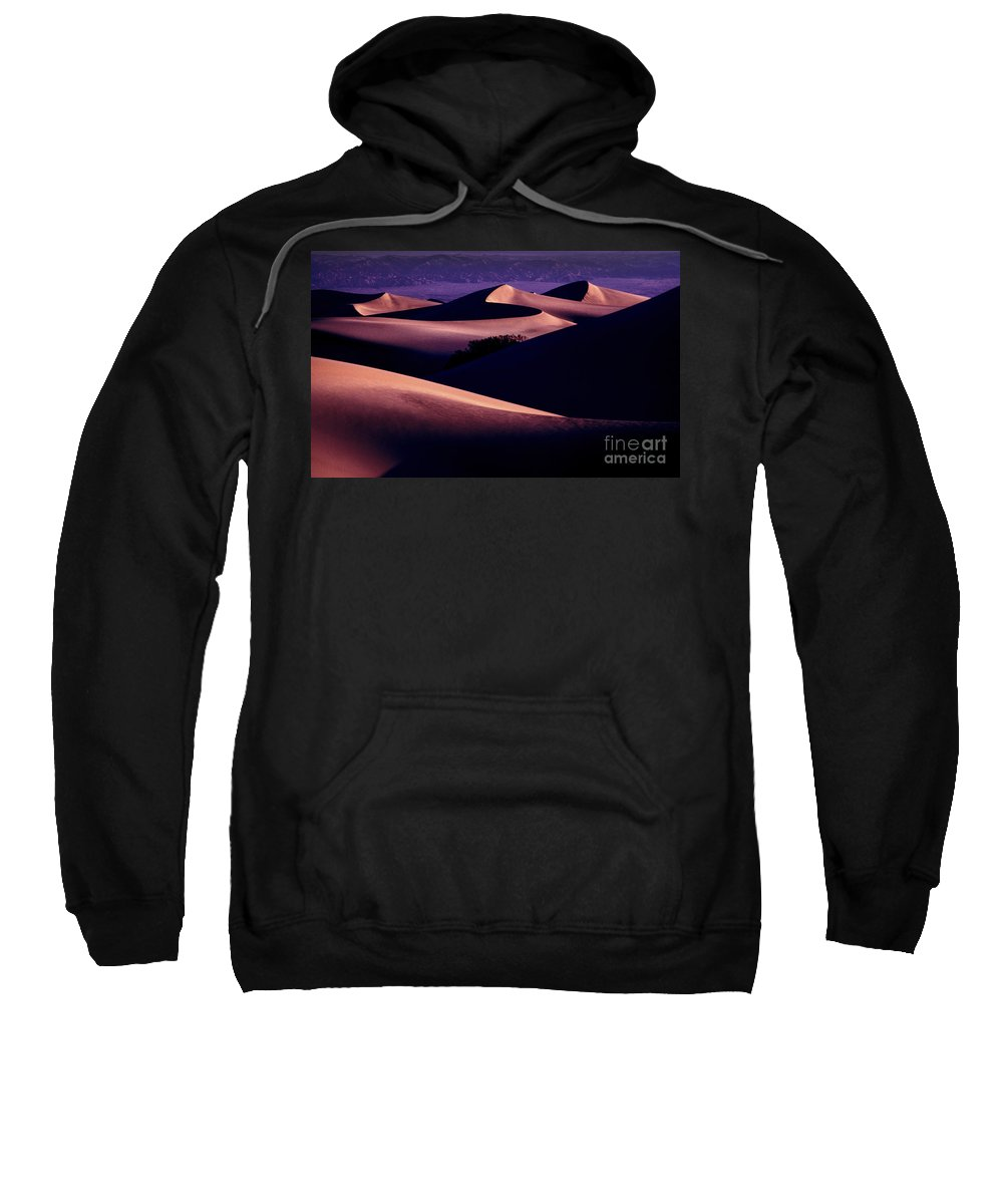 Sand Dunes Sweatshirt featuring the photograph Sand Dunes At Sunrise by Paul W Faust - Impressions of Light
