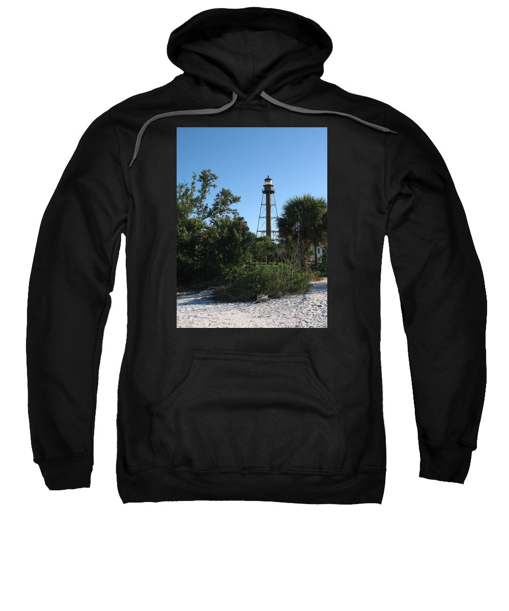 Ligthouse Sweatshirt featuring the photograph Sanibel Island Lighthouse by Christiane Schulze Art And Photography