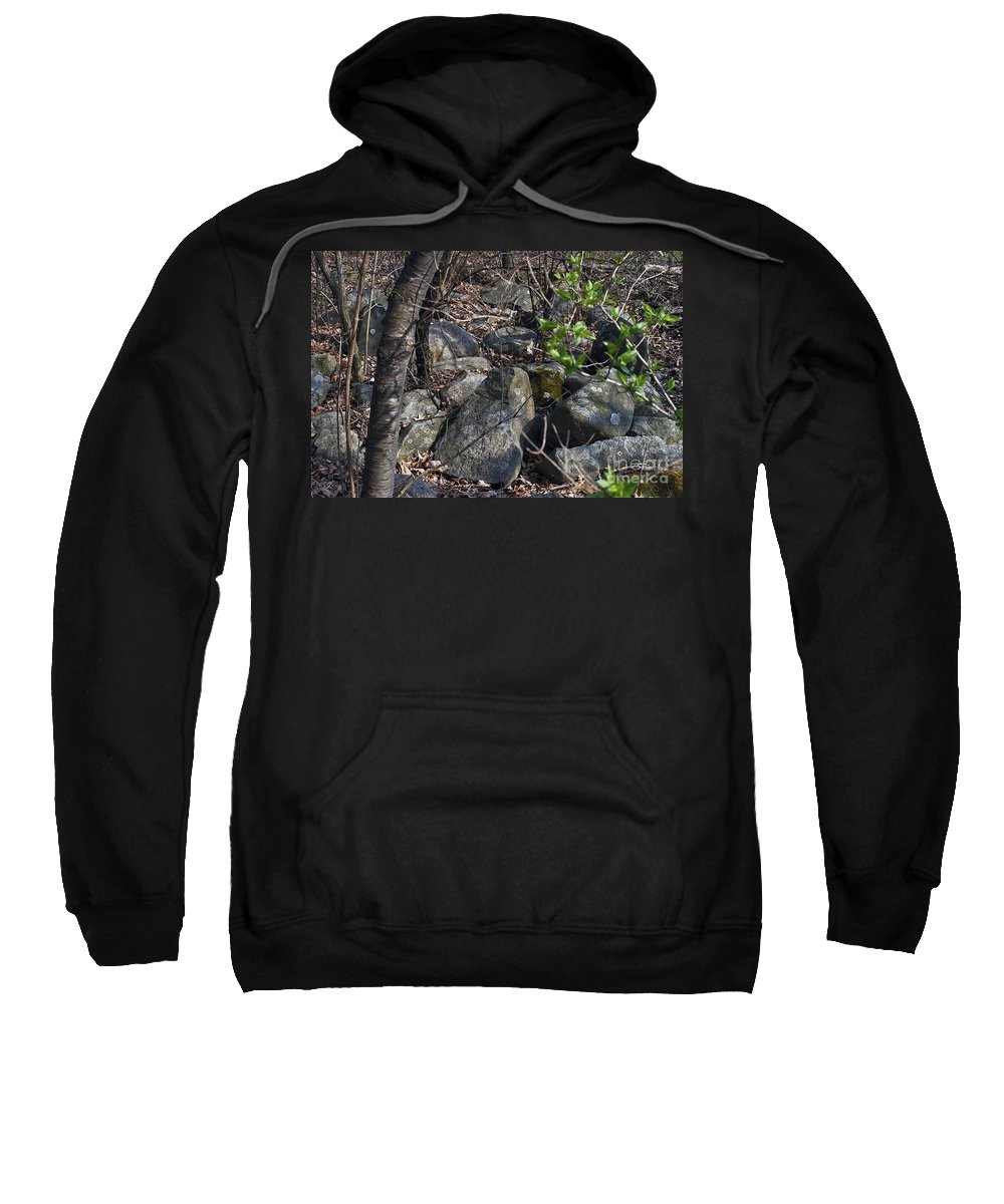 Cairn Sweatshirt featuring the photograph Scattered by Joseph Yarbrough
