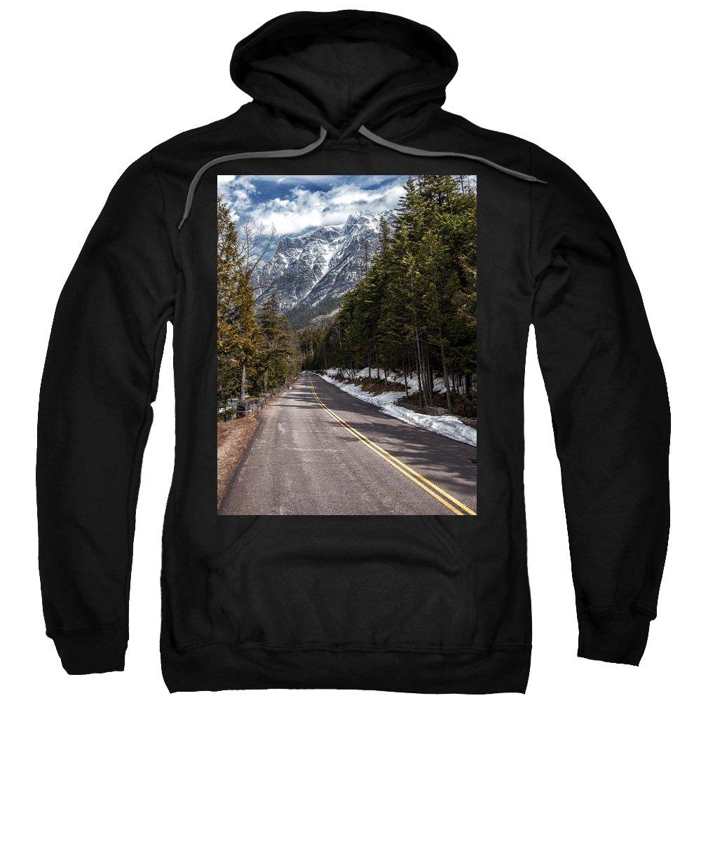 Road Sweatshirt featuring the photograph Sentimental Journey by Aaron Aldrich