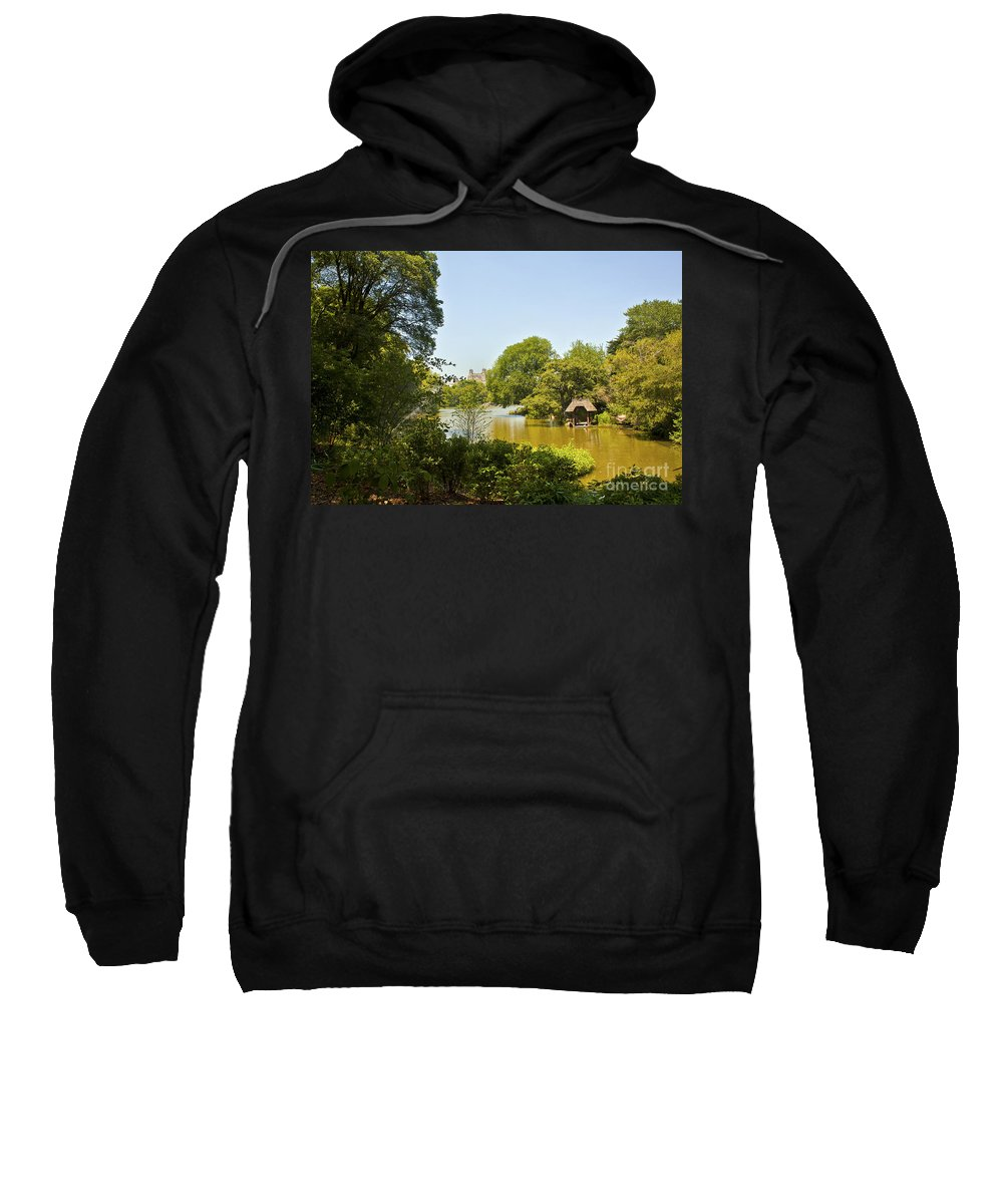 Pond Sweatshirt featuring the photograph Serenity II by Madeline Ellis
