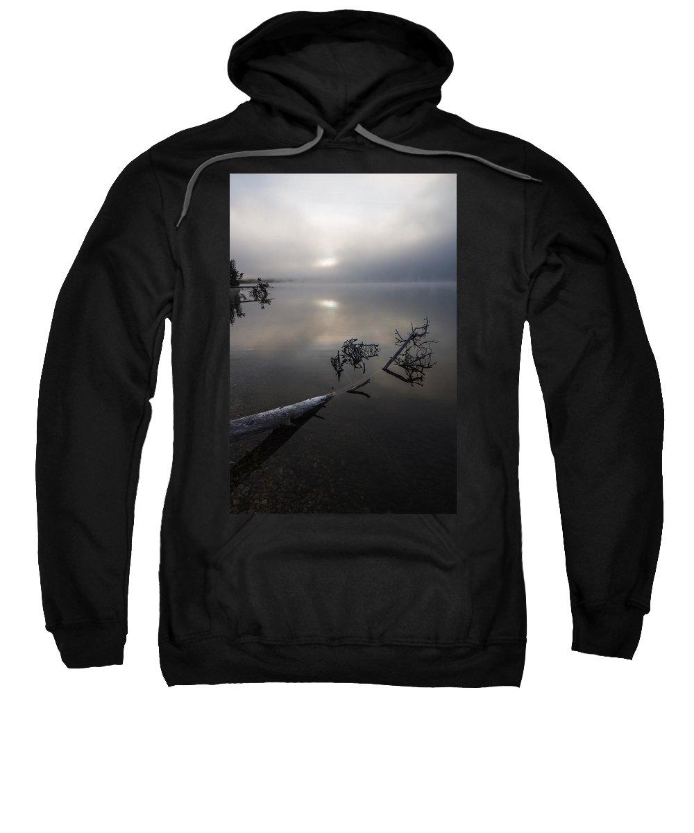 Serene Sweatshirt featuring the photograph Serenity by Vishwanath Bhat