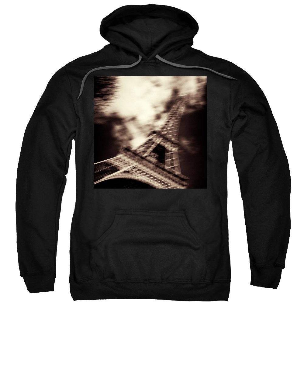 Eiffel Tower Sweatshirt featuring the photograph Shades Of Paris by Dave Bowman
