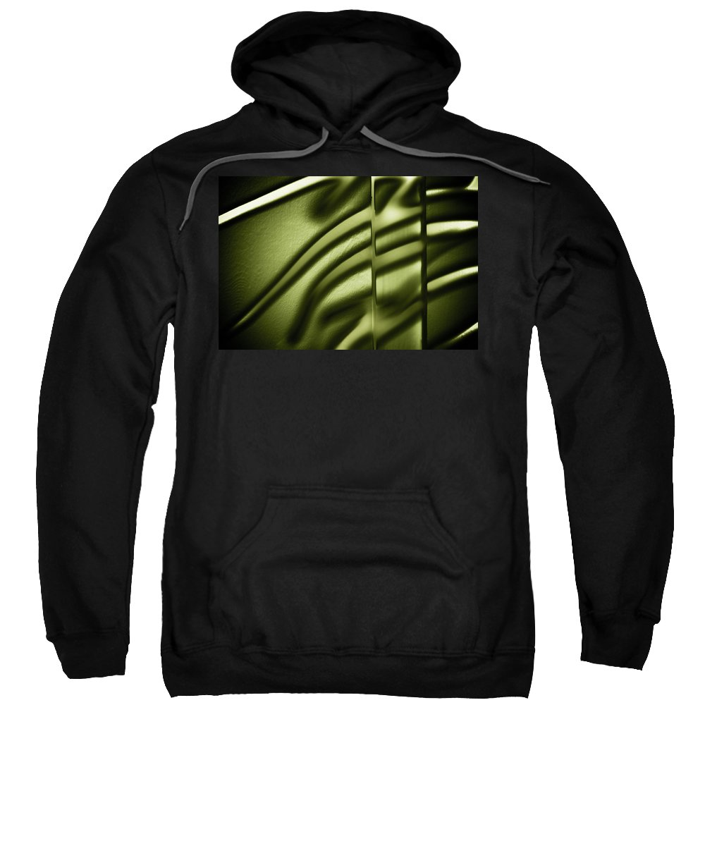Abstract Sweatshirt featuring the photograph Shadows On Wall by Darryl Dalton
