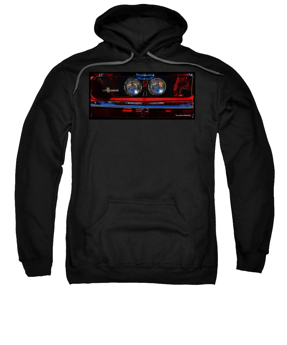 Ford Sweatshirt featuring the photograph Shelby Gt 500 Mustang 2 by Tommy Anderson