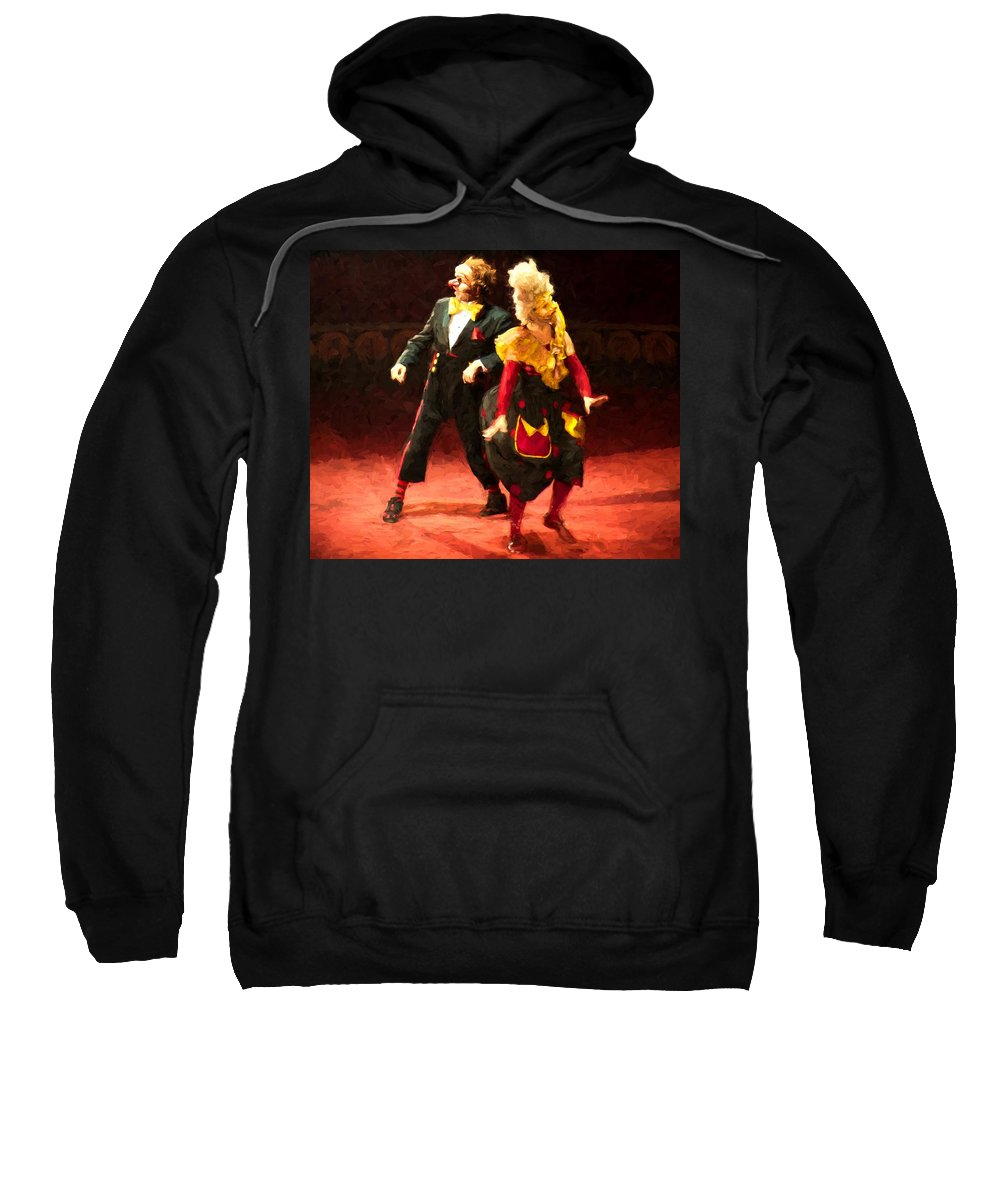 Circus Sweatshirt featuring the photograph Sidestep by Alice Gipson