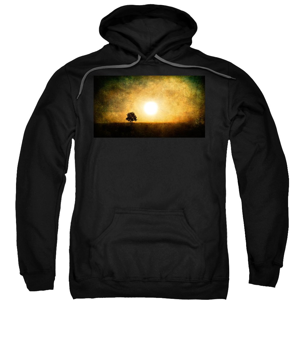 Landscape Sweatshirt featuring the photograph Sing In Silence by Roman Solar