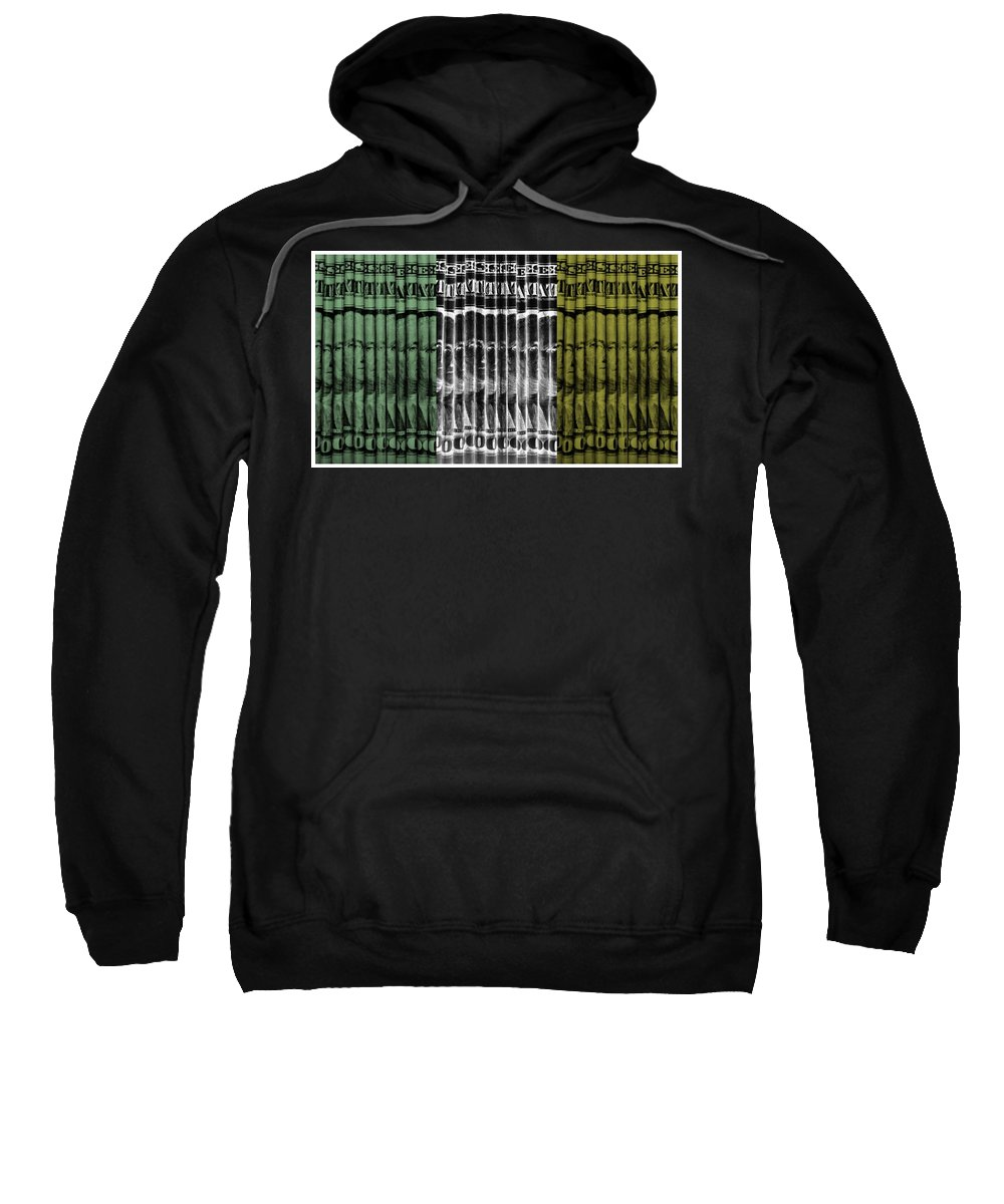 Money Sweatshirt featuring the photograph Singles In Tri Colors by Rob Hans