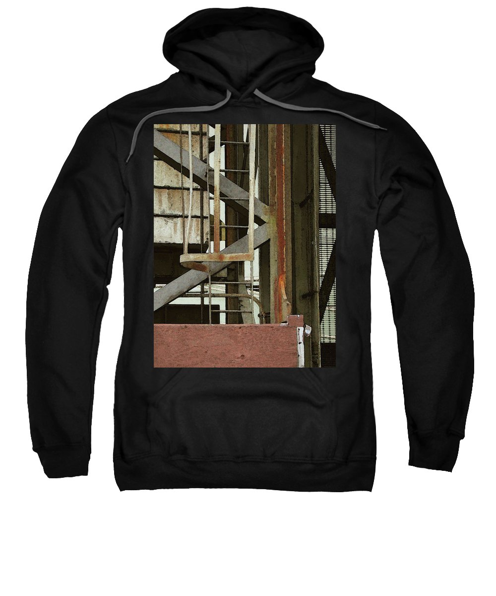 Digital Sweatshirt featuring the digital art Skagway 1 by David Hansen