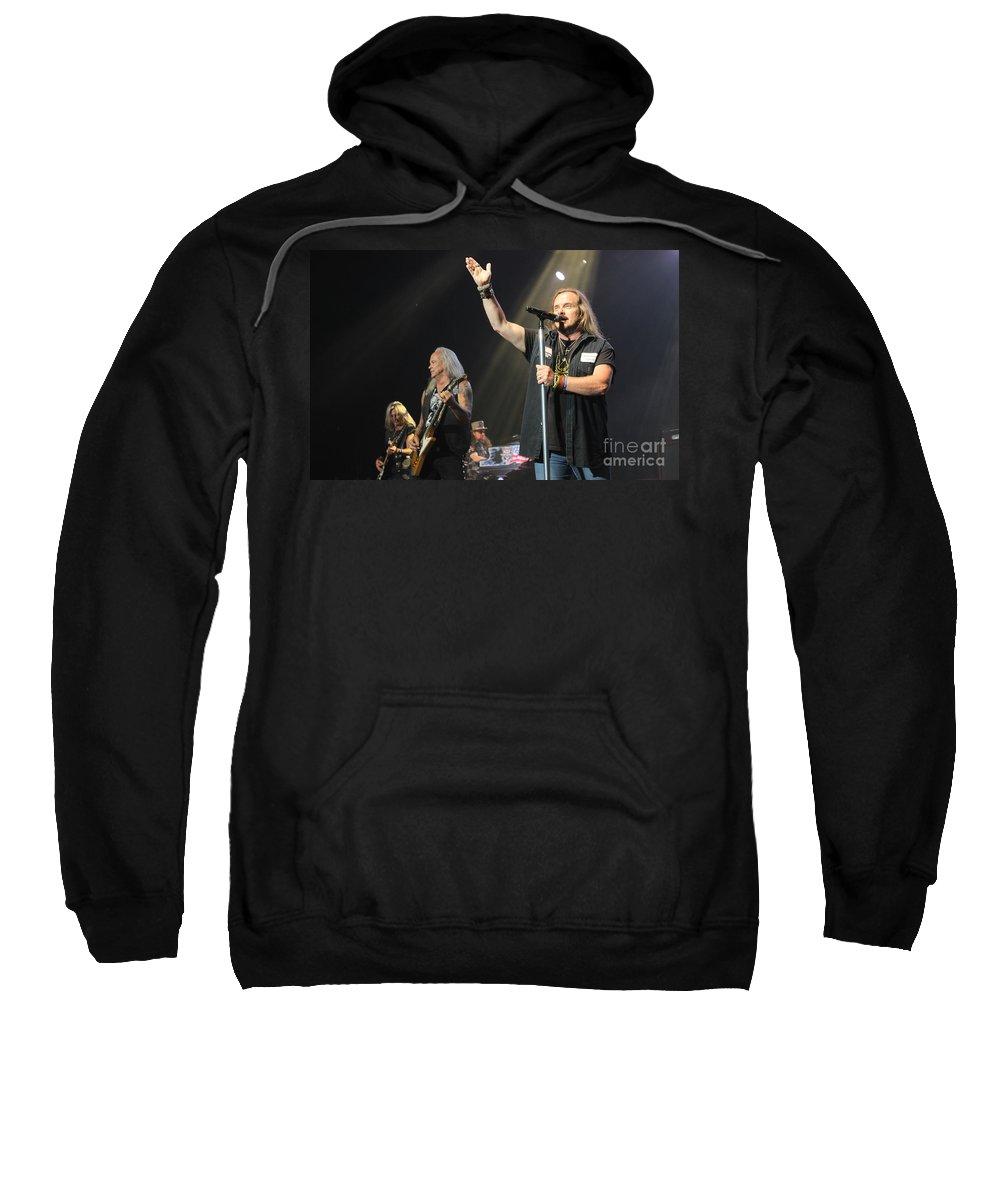 Lynyrd Skynyrd Sweatshirt featuring the photograph Skynyrd-group-7229 by Gary Gingrich Galleries