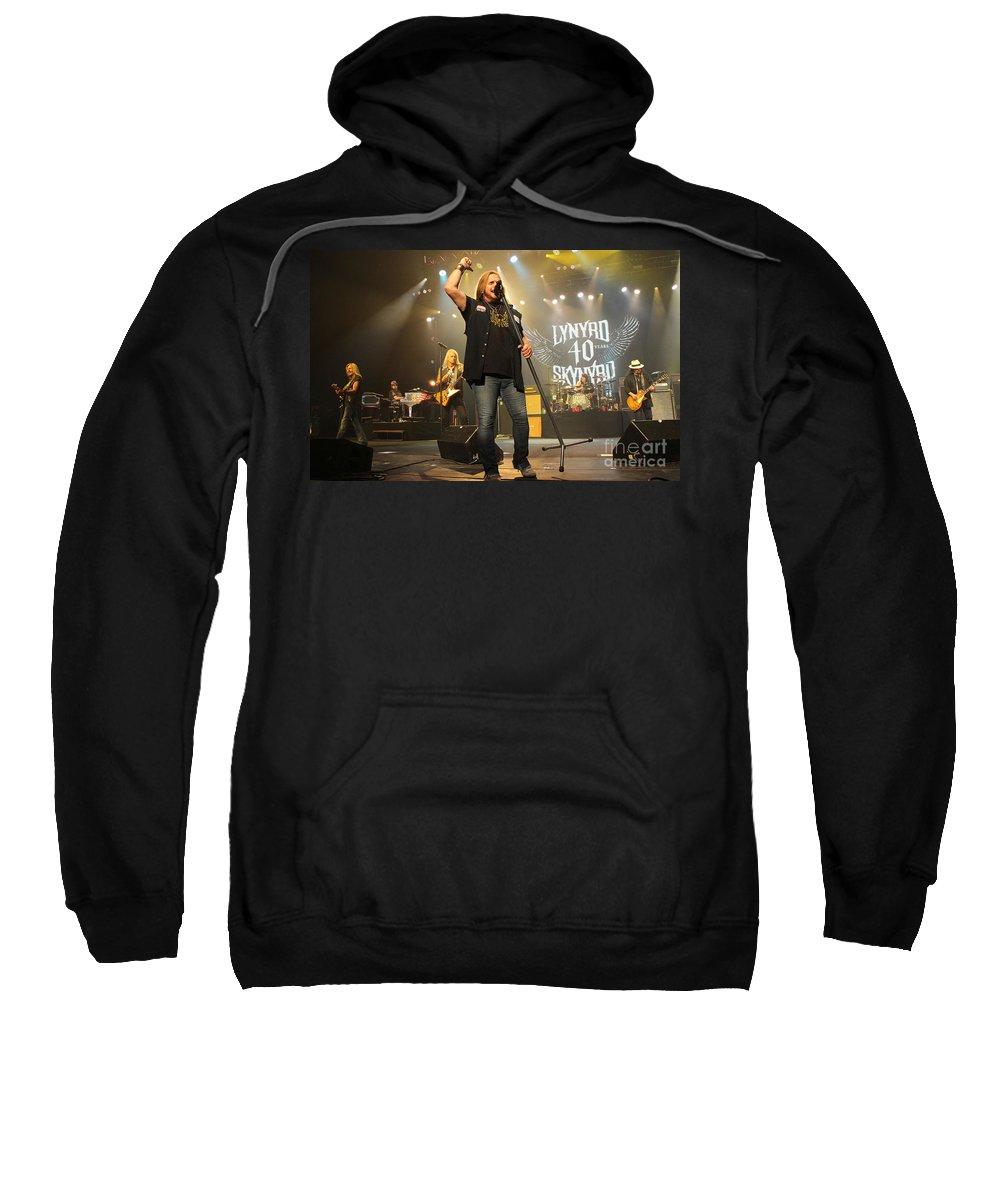 Lynyrd Skynyrd Sweatshirt featuring the photograph Skynyrd-group-7320 by Gary Gingrich Galleries