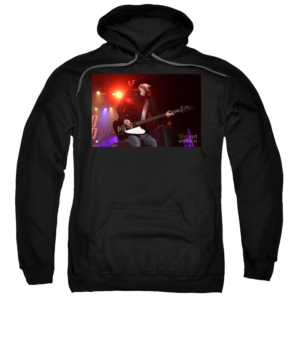 Lynyrd Skynyrd Sweatshirt featuring the photograph Skynyrd-johnnycult-7902 by Gary Gingrich Galleries
