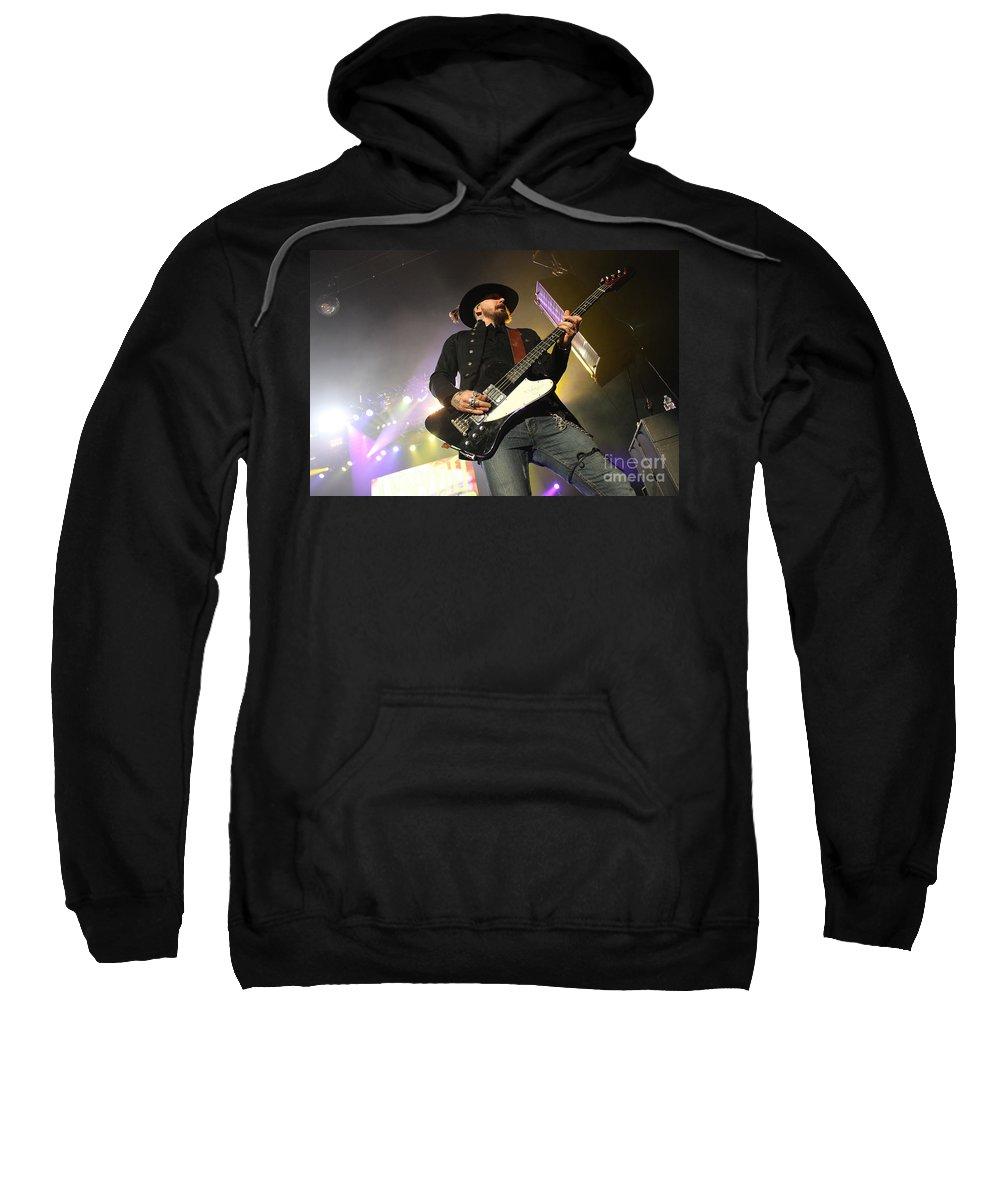 Lynyrd Skynyrd Sweatshirt featuring the photograph Skynyrd-johnnycult-7950 by Gary Gingrich Galleries