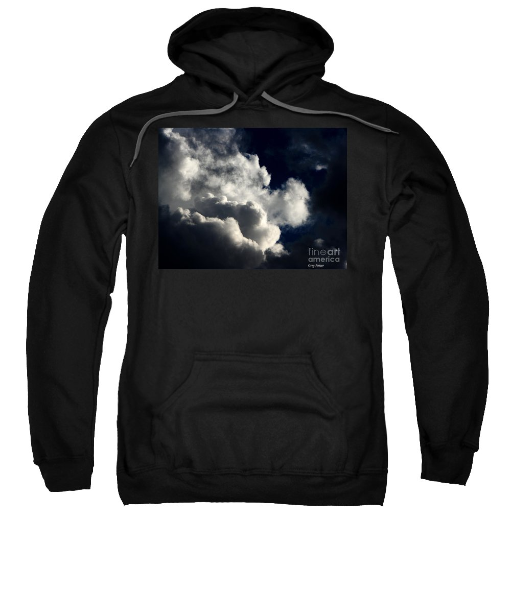 Art For The Wall...patzer Photography Sweatshirt featuring the photograph Spiritual by Greg Patzer