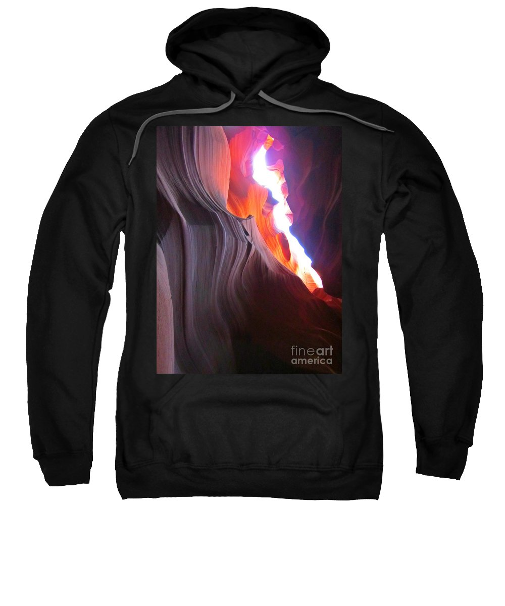 Beautiful Sandstone Formations Sweatshirt featuring the photograph Spiritual Places by John Malone