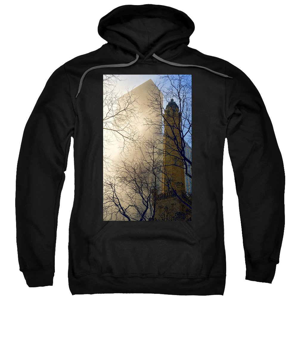 Chicago Sweatshirt featuring the photograph Springtime In Chicago by Steven Sparks