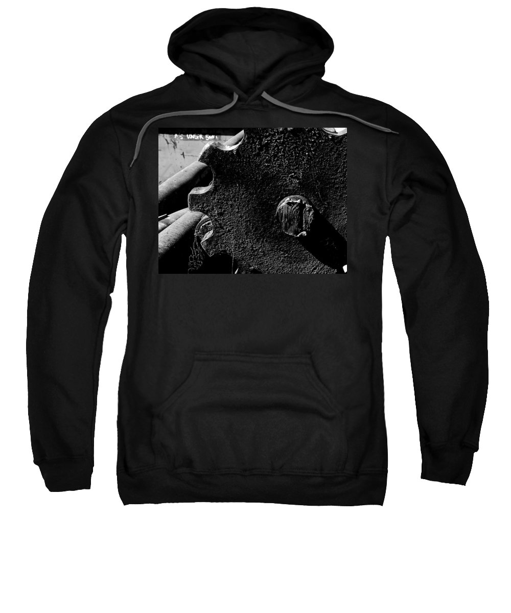 Hopper Sweatshirt featuring the photograph Sprocket by Guy Pettingell