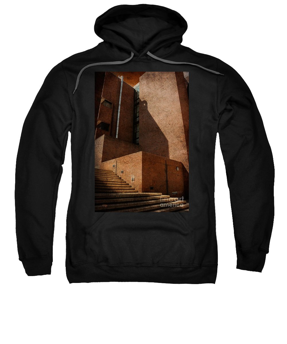 Stairs Sweatshirt featuring the photograph Stairway To Nowhere by Lois Bryan