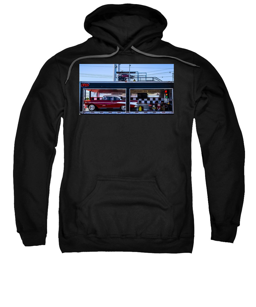 Route 66 Sweatshirt featuring the photograph Standard Oil Products by Angus Hooper Iii