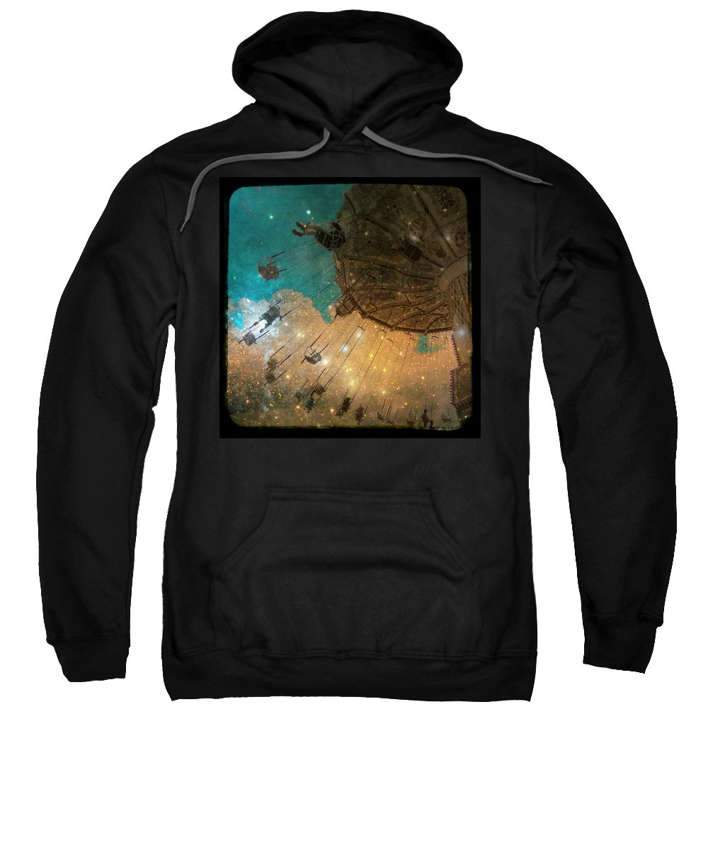 Stars Sweatshirt featuring the photograph Star Bright by Gothicrow Images