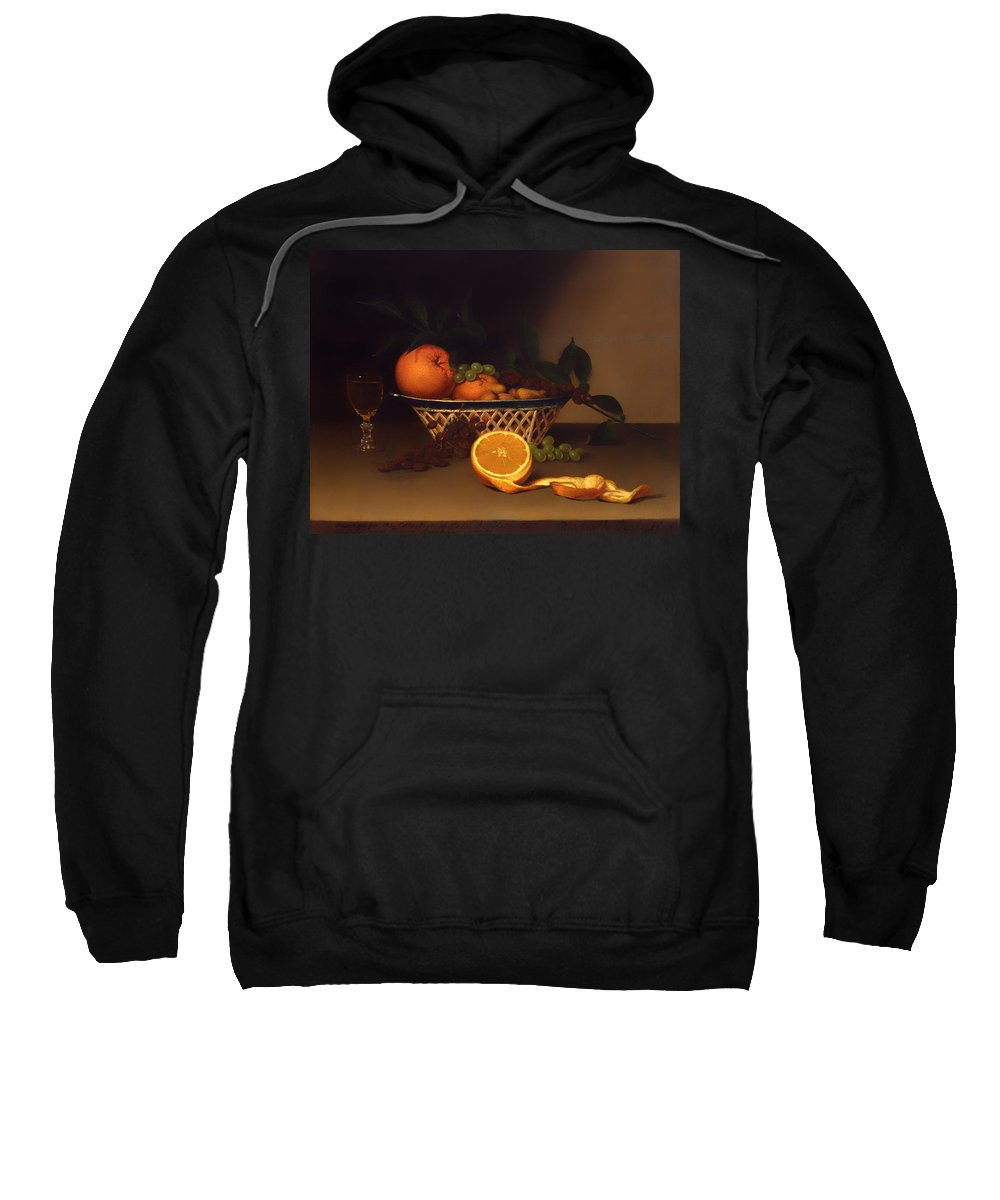 Painting Sweatshirt featuring the painting Still Life With Oranges by Mountain Dreams