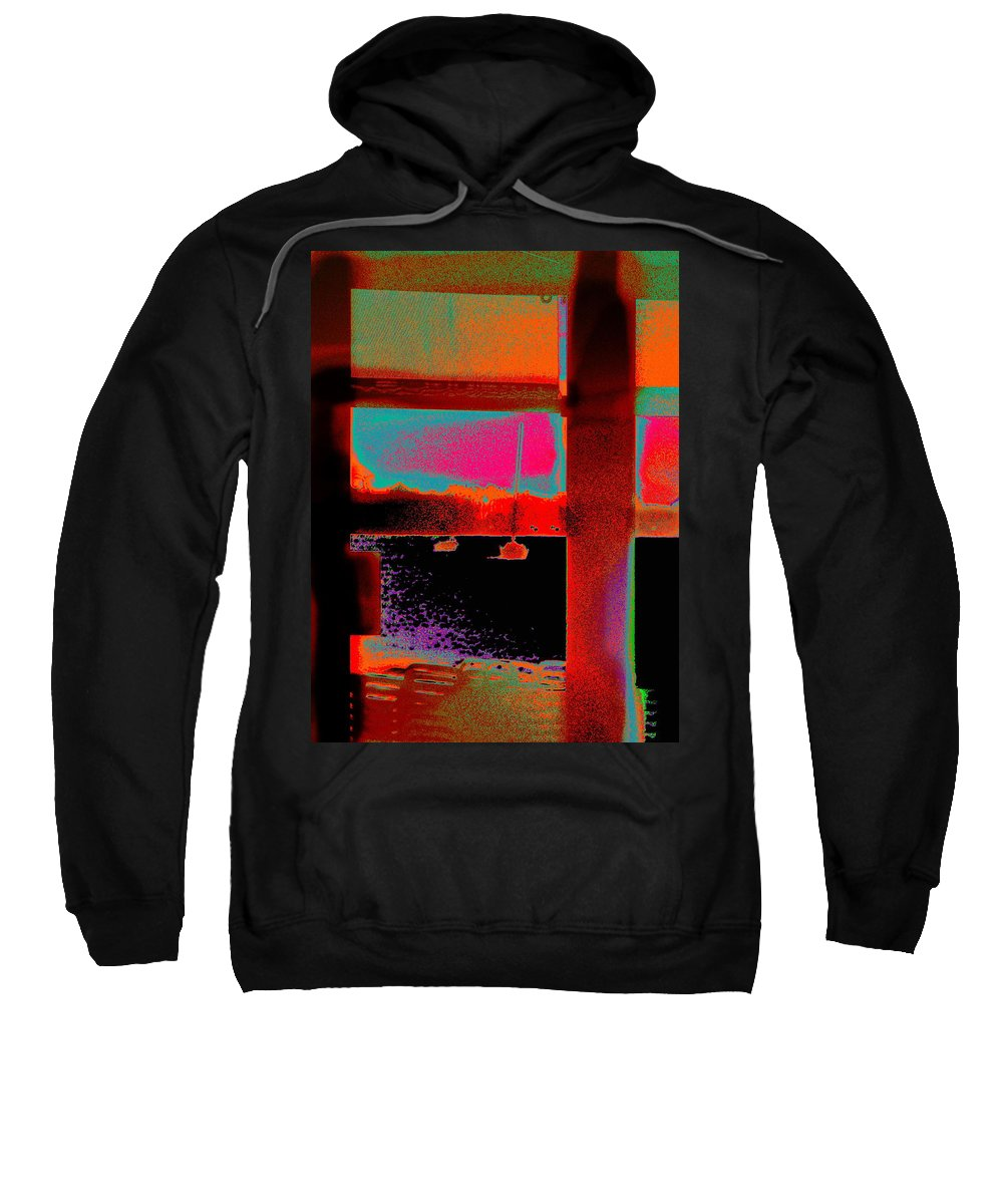 Seascape Sweatshirt featuring the photograph St.maartin Four by Expressionistart studio Priscilla Batzell
