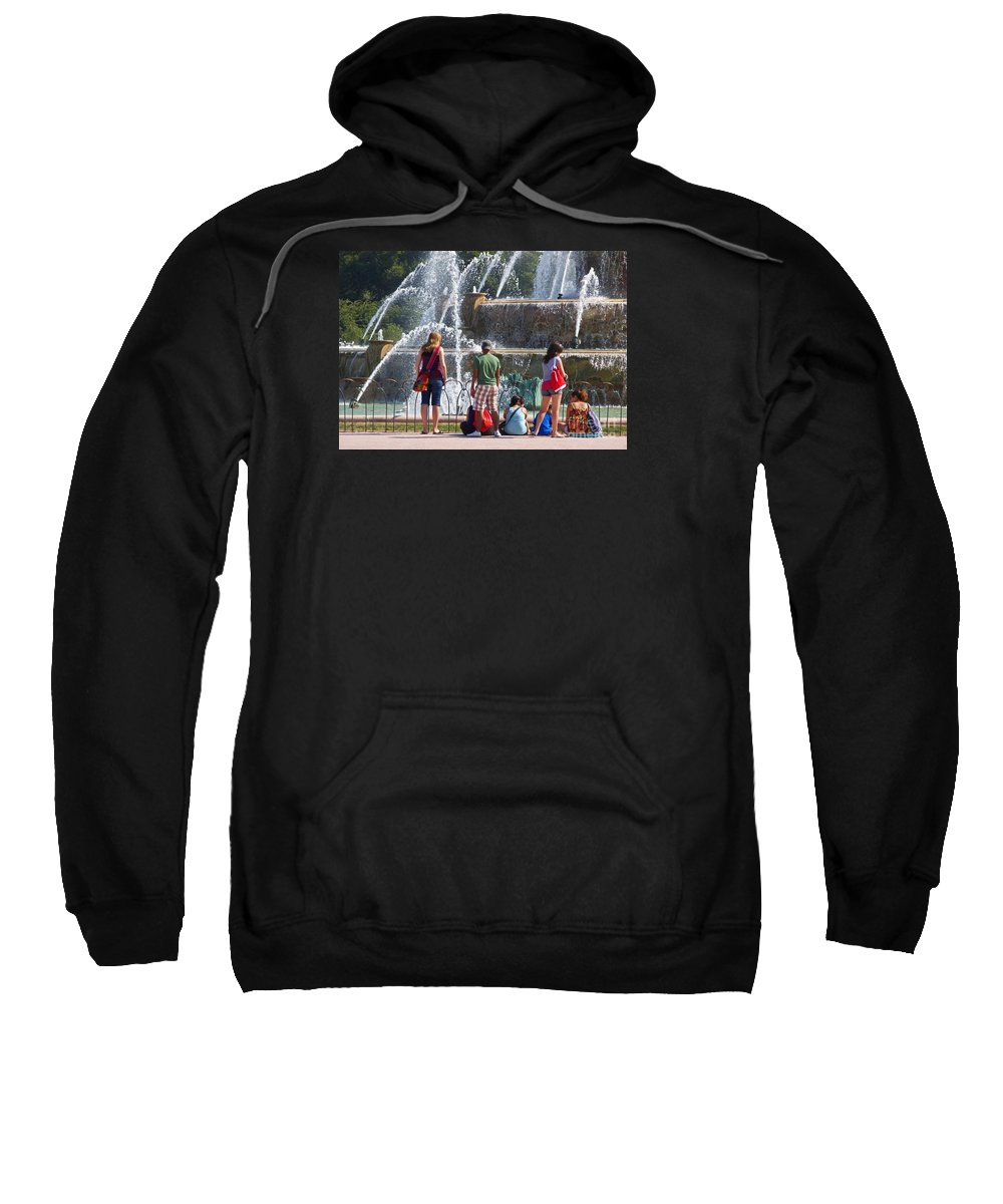 Chicago Sweatshirt featuring the photograph Summer Resting Place by Ann Horn