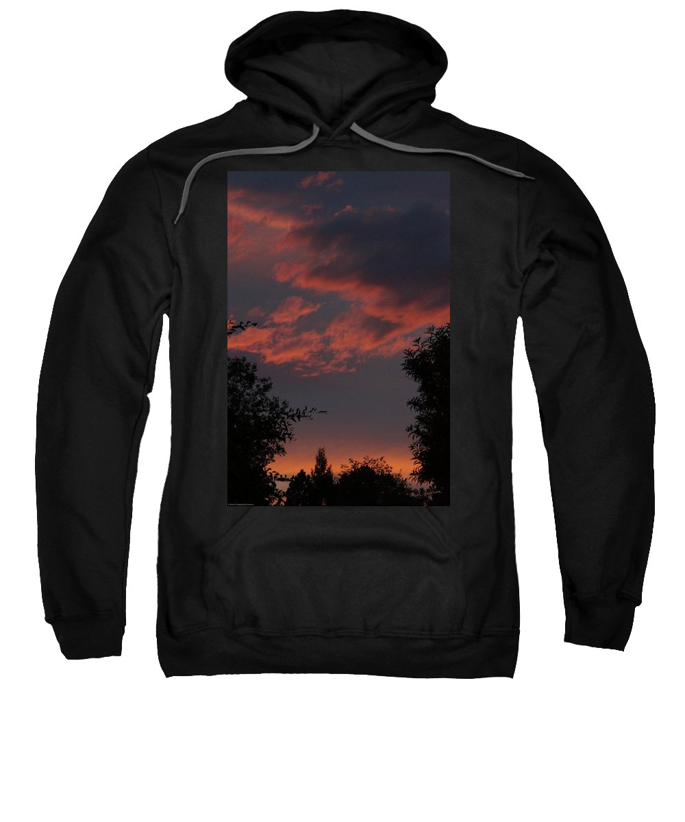 Sunset Sweatshirt featuring the photograph Sunset After The Storm by Mick Anderson