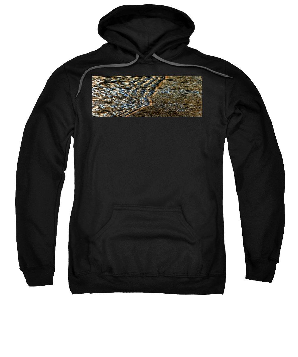 Ocean Sweatshirt featuring the photograph Surf by Steve Archbold