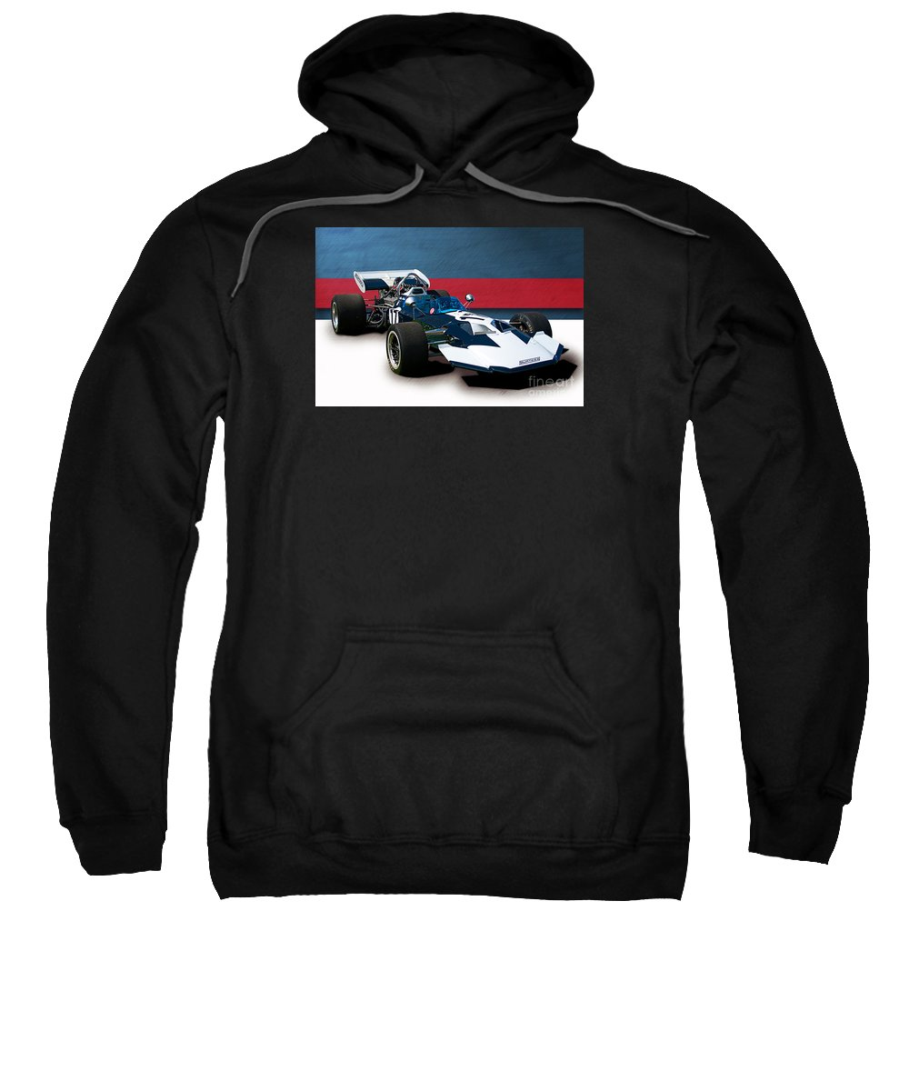 Surtees Sweatshirt featuring the photograph Surtees Ts8 F5000 by Stuart Row