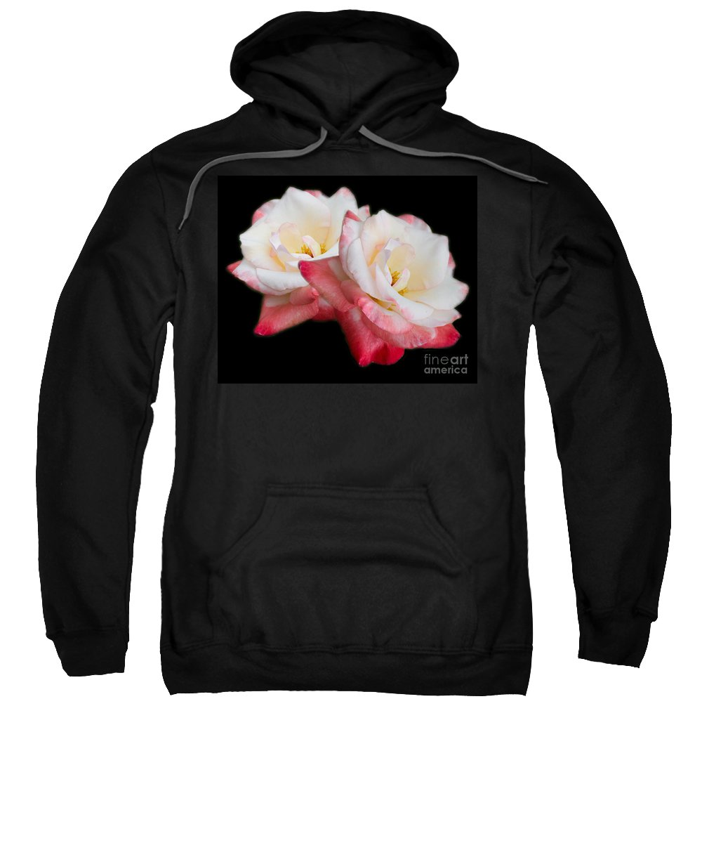 Rose Sweatshirt featuring the photograph Take Two by TN Fairey